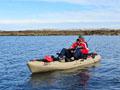 Rybolov z kajaku v Norsku