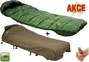 GIANTS FISHING Sleeping Bag 4 Season Comfort +přehoz Exclusive