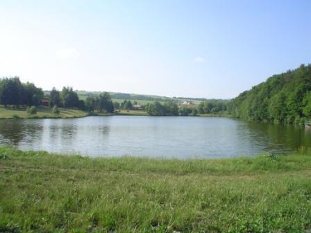 Pohled z hráze, Autor fota: ČRS