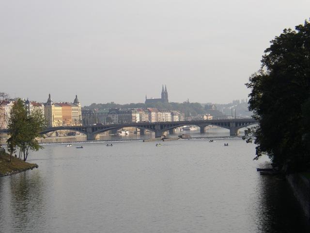 Vltava 5 - mezi jezy u Karlova mostu a u Jiráskova mostu, Autor fota: ČRS