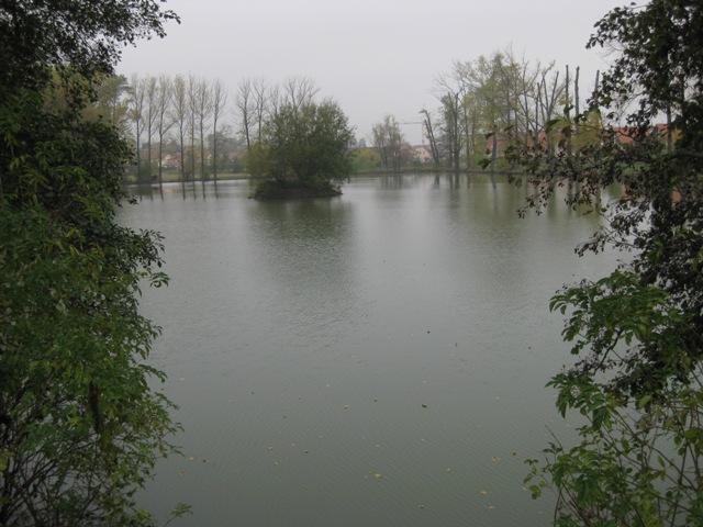 Botič 1 - rybník Pančák, Autor fota: ČRS